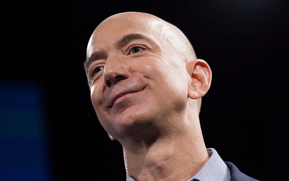 Jeff Bezos, patron d'Amazon, l'homme qui valait plus 100 milliards d'US après le Black Friday !