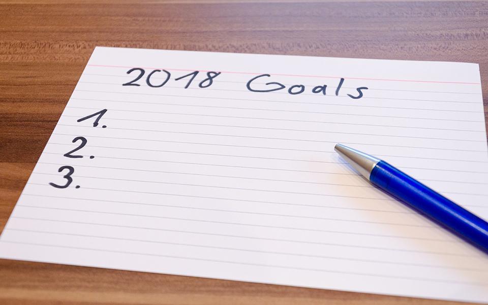 2018 : 10 bonnes résolutions à adopter !