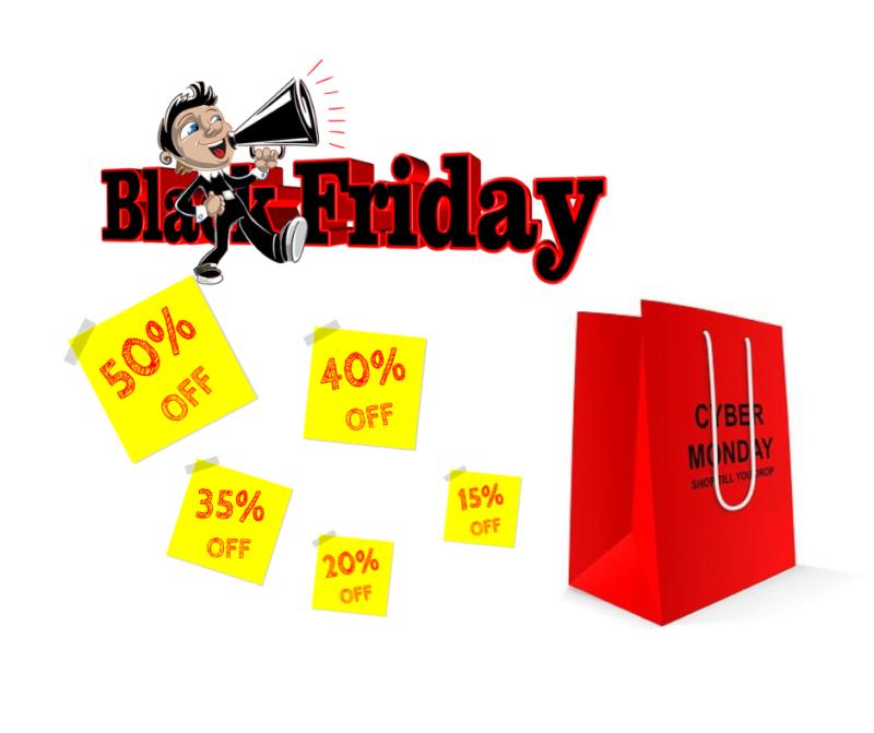 E-commerce: oubliez Thanksgiving, black Friday & cyber Monday sont là !